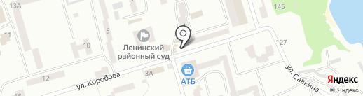Полісся на карте Днепропетровска