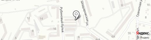 Автостоянка на карте Днепропетровска