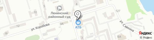 Точка на карте Днепропетровска