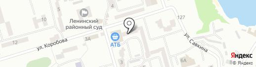 Региональные технологии на карте Днепропетровска