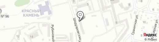 Стоматологический кабинет в переулке Людмилы Сталь на карте Днепропетровска