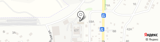 Студия звукозаписи Сергея Тополя на карте Днепропетровска