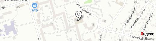 Мебель на Красном Камне на карте Днепропетровска