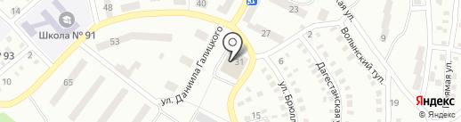 ДРАЦС Ленінського району на карте Днепропетровска
