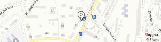 Український м`ясокомбінат на карте Днепропетровска