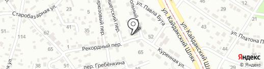 Почтовое отделение №19 на карте Днепропетровска