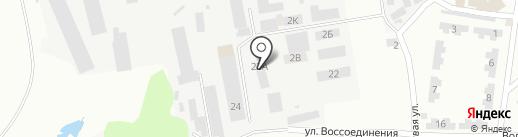 Днепропетровский тротуарный дом на карте Днепропетровска