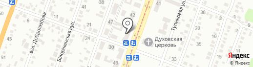 Почтовое отделение №35 на карте Днепропетровска