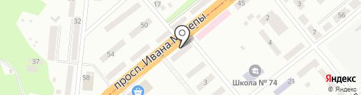 Окна и Двери на карте Днепропетровска