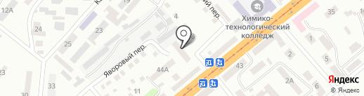 Магазин ритуальных принадлежностей на проспекте Петровского на карте Днепропетровска