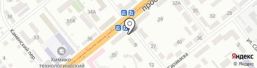 Магазин на карте Днепропетровска
