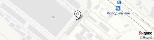 Днепропетровский машиностроительный завод на карте Днепропетровска