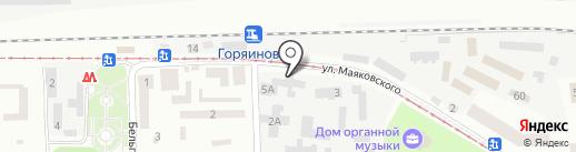 Ватра Нова на карте Днепропетровска