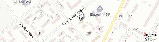 Дошкільний навчальний заклад №237, Білочка на карте Днепропетровска