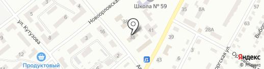Строй-Альянс на карте Днепропетровска