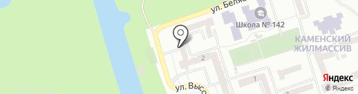 Днепропетровский автоцентр МАЗ на карте Днепропетровска