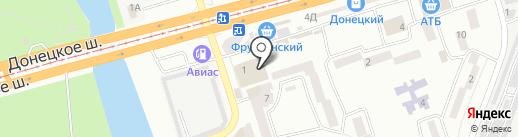 Сервіс на карте Днепропетровска