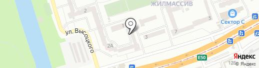 Романтик на карте Днепропетровска