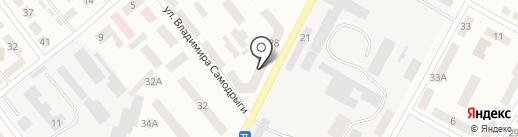 ДЮСШ №10 на карте Днепропетровска