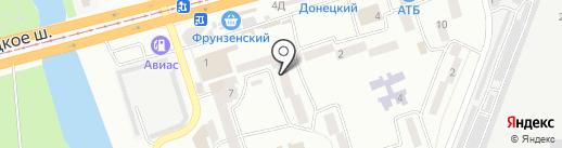 Ирина на карте Днепропетровска