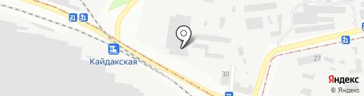 Профнастил Торг, ЧП на карте Днепропетровска