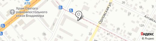 Калуцкий Я.И. на карте Днепропетровска