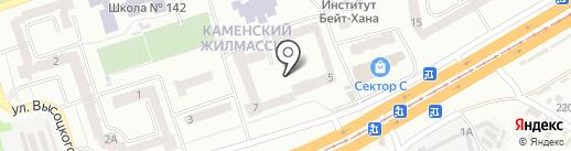Стимул на карте Днепропетровска
