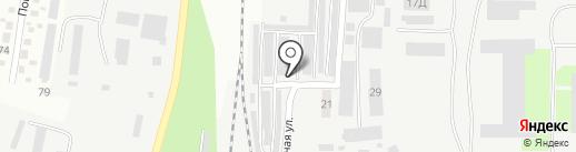 Турист на карте Днепропетровска