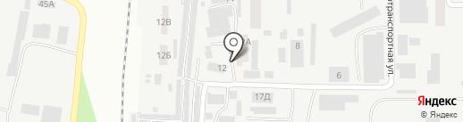 Отис Тарда на карте Днепропетровска