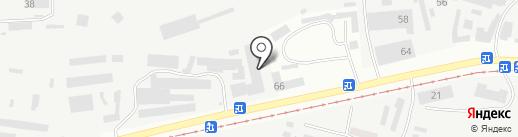 Ю.Т.К. на карте Днепропетровска
