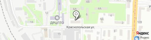 Шарур на карте Днепропетровска