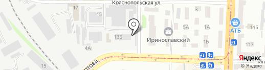 ИВК ТЕХНИКА на карте Днепропетровска
