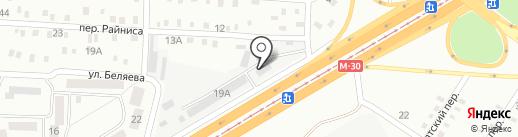 Будин-Торг на карте Днепропетровска