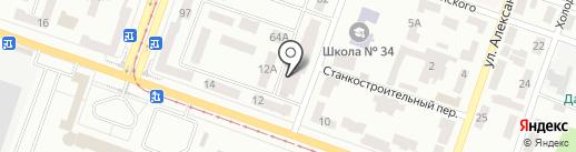 Экосфера на карте Днепропетровска