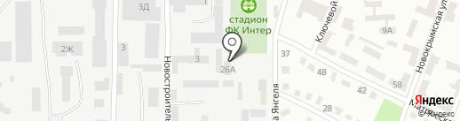Интер на карте Днепропетровска
