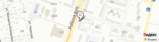 Прогр-Ес на карте Днепропетровска
