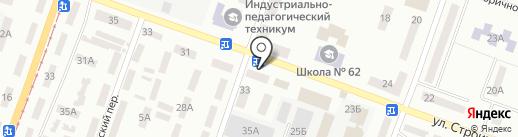 Миланит на карте Днепропетровска