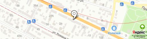Тата-Эталон на карте Днепропетровска