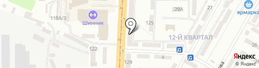 Ангар бутик на карте Днепропетровска