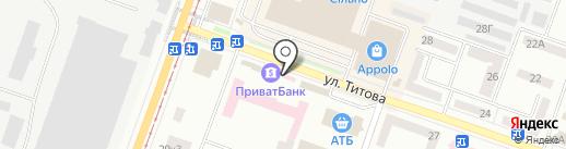 ВТБ Банк на карте Днепропетровска