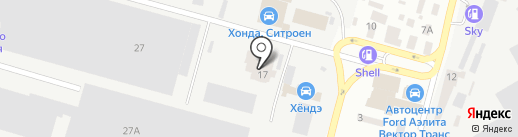 Health & Beauty на карте Днепропетровска