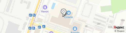 Beauty shop на карте Днепропетровска