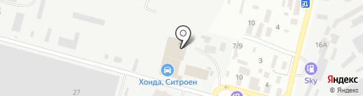 Центр Кузовных Работ на карте Днепропетровска