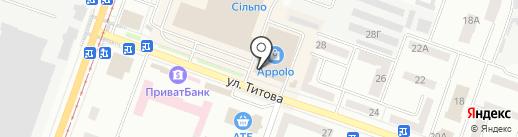 Пивная станция на карте Днепропетровска