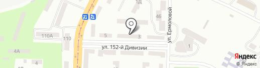 Югтепломонтаж на карте Днепропетровска