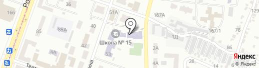 СДЮШОР №5 им. М.И. Говорунова на карте Днепропетровска