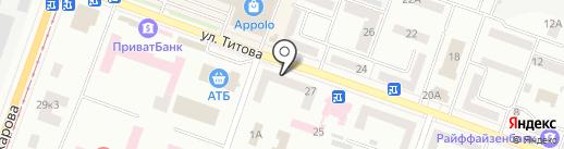 Кухни на карте Днепропетровска