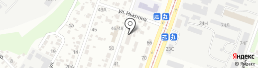 Евгений Остапенко и партнеры на карте Днепропетровска