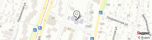 Дошкільний навчальний заклад №349 на карте Днепропетровска