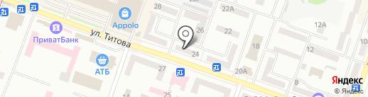 Сладкая жизнь на карте Днепропетровска